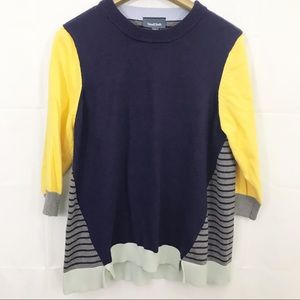 Modcloth Well Placed Pep Colorblock Sweater